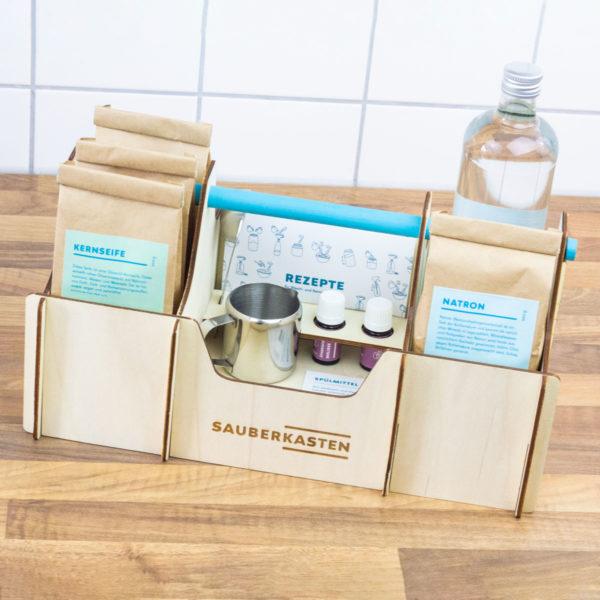 DIY Set für umweltschonende Reiniger und Waschmittel