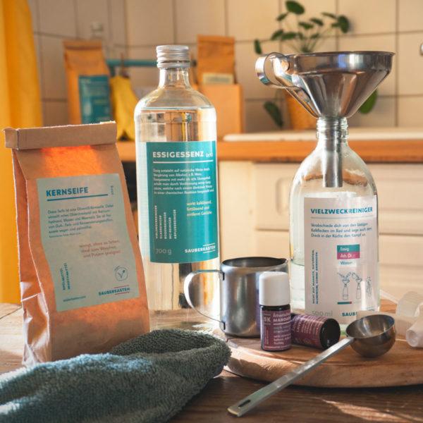 umweltschonende Putzmittel und Waschmittel selbst machen
