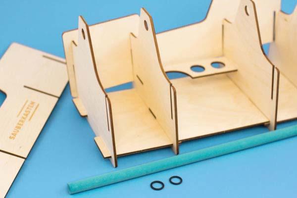 Sauberkasten Holzkasten Stecksystem