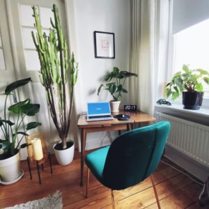 nachhaltiges Homeoffice