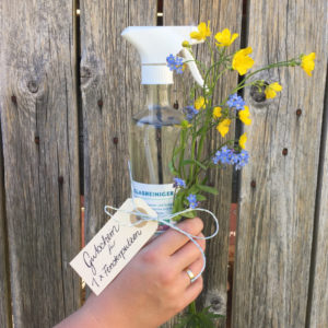 DIY Glasreiniger Geschenk Muttertag
