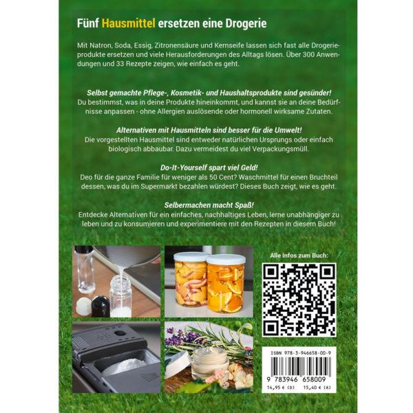 Buchrückseite Das Natron Handbuch von smarticular