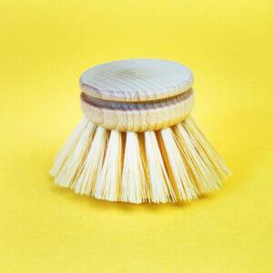 Ersatzkopf einzeln für zero waste Spülbürste aus Holz
