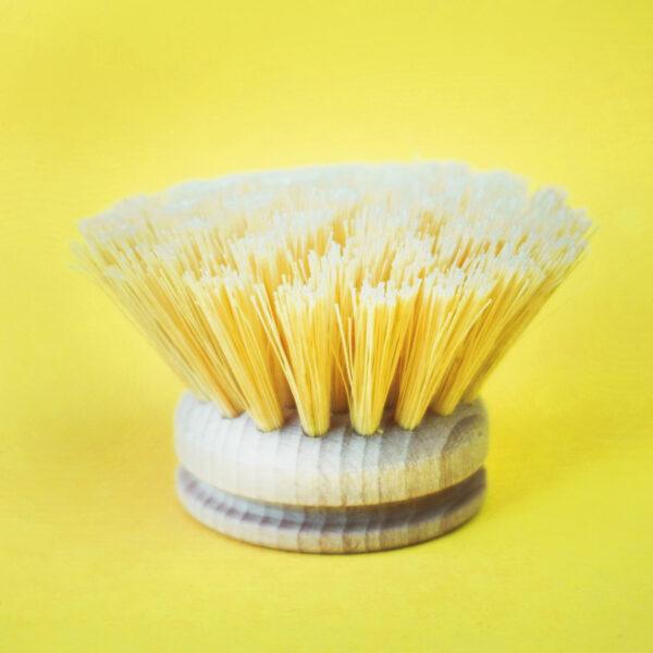 Wechselkopf einzeln für Spülbürste aus zertifiziertem Holz